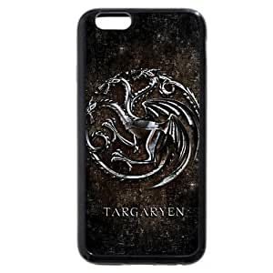Onelee - Custom-buitd Personalized Black Soft Rubber(TPU) iPhone 6+ Plus 5.5 Case, Game of Thrones winter is coming iPhone 6 Plus case, Only fit iPhone 6+ (5.5 Inch) by ruishername