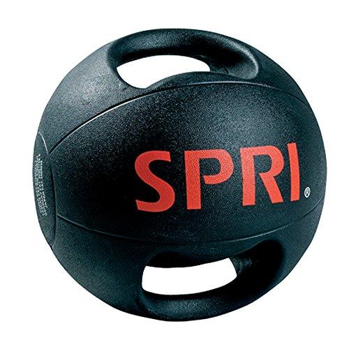 Spri Dual Handle Xerball® Medicine Ball-10lbs (10 Lb Medicine Ball With Handles)