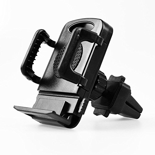 Universal Air Vent Mount Car Phone Holder - 360° Rotation. Cradle Holds All Smartphones including iPhone, Android, Blackberry and GPS - Uk Triathlon Stores
