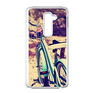 Artistic bicycle design fashion phone case for LG G2
