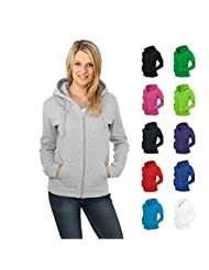 Ladies Zip Hoody Urban Classics Streetwear Hoodies