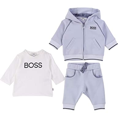 BOSS Hugo J98256/771 - Chándal para bebé (3 Piezas), Color Azul ...
