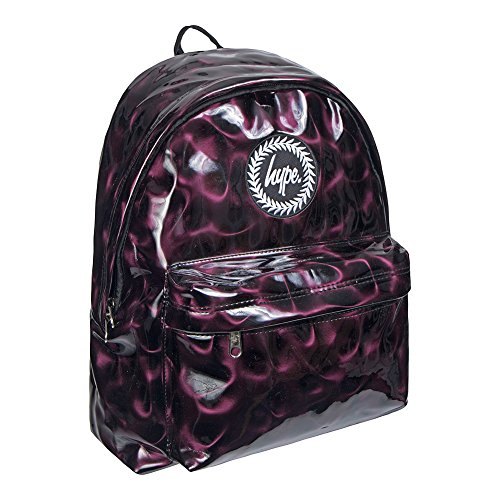 HYPE Dark Plum Backpack Plum School bag AW17393 HYPE Bags