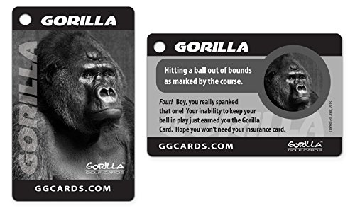 Gorilla Golf Cards : The On-Course Golf Betting Game by Gorilla Golf Cards (Image #1)