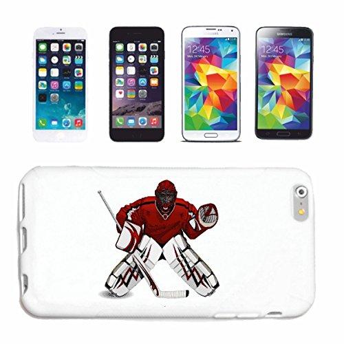 caja del teléfono iPhone 7S Disco Hockey equipo de hockey DEPORTES HOCKEY SOBRE HIELO BAT Caso duro de la cubierta Teléfono Cubiertas cubierta para el Apple iPhone en blanco
