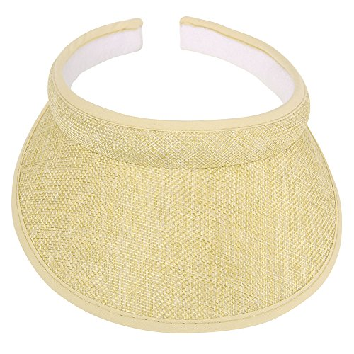 Sunscreen Baby Costume (Children Wide Brim Visor Hat UV Sunblock Fits Stylish & Elegant Design For Boys and Girls (S Beige))