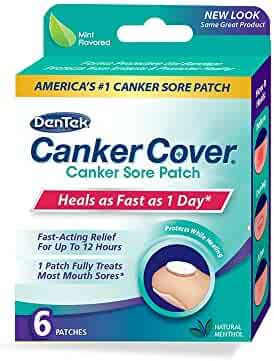 DenTek Canker Cover Patch, 6 Count