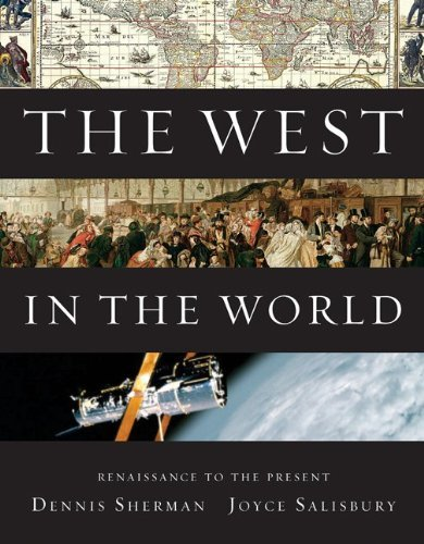 By Dennis Sherman, Joyce Salisbury: The West in the World, Renaissance to Present Fourth (4th) - Salisbury Shopping