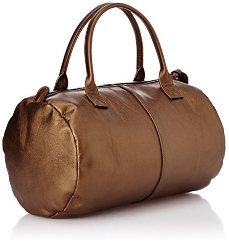 Sous Les Pavés Baby Caipirinha - Bolsa de bolos mujer marrón - Marron (Zeus Wengé/Ovale Doré)