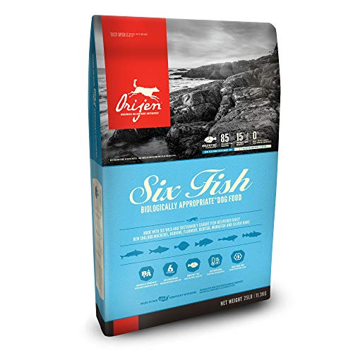 ORIJEN Dry Dog Food, Six Fish, Biologically Appropriate & Grain ()