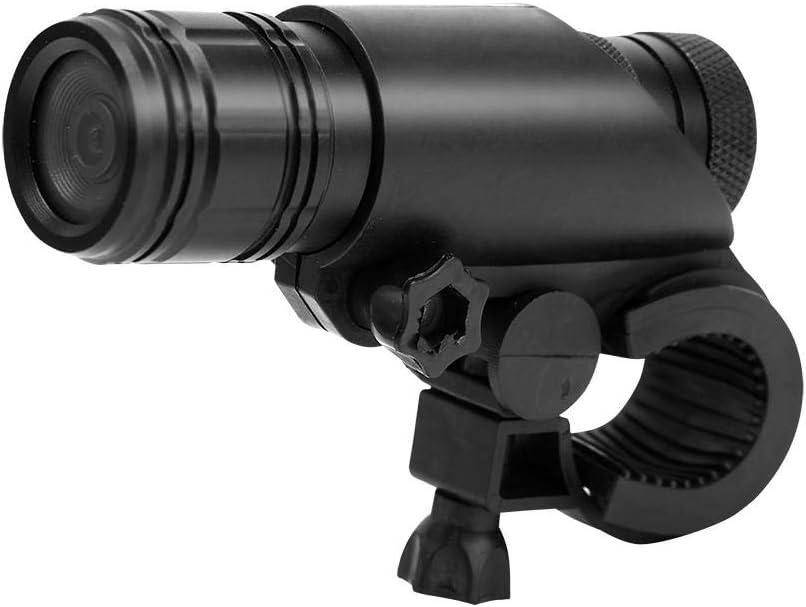 Tihebeyan MC28 Videocámara Digital, cámara de Video montada en el Casco de la Motocicleta de la Bicicleta Impermeable 8MP 720P grabadora de Deportes de 120 Grados