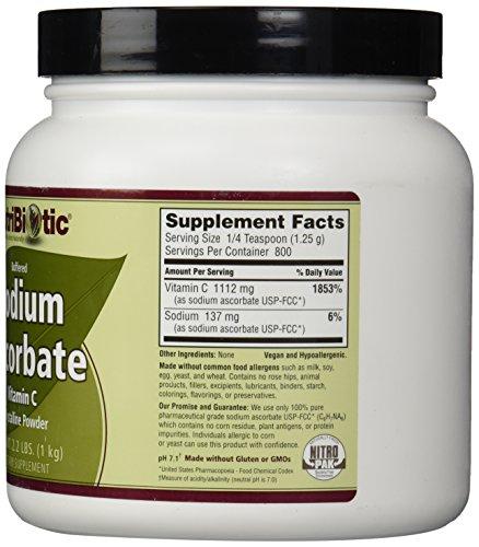 Nutribiotic Sodium Ascorbate Powder, 2.2 Pound by Nutribiotic (Image #4)