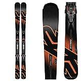 K2 iKonic 84 Ti Skis with MXC 12 TCX Bindings