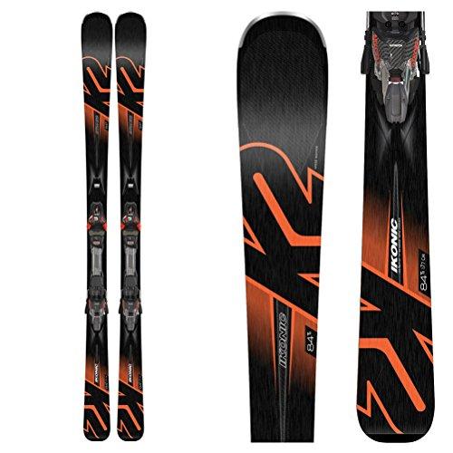 K2 2019 Ikonic 84Ti 170cm Skis w/MXC 12 Bindings