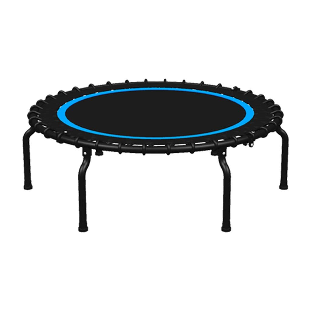 LKFSNGB Household Mini Trampoline Child Adult Indoor Bouncing Bed Portable and Folding Trampoline Fitness - 40'' by LKFSNGB