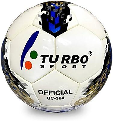 Turbo Sport sc-384 balón de fútbol Oficial tamaño 4 EVA de Piel ...