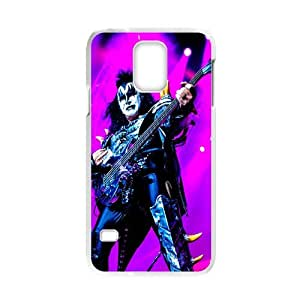 Snap-on Hard rock and heavy metal Band Kiss Paul Stanley Design Hard Plastic Durable Back Case Shell for Samsung Galaxy S5 Laser case-2