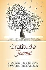 Gratitude Journal: A Journal Filled With Favorite Bible Verses (KJV) Paperback