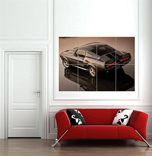 Doppelganger33LTD ELEANOR 1967 FORD MUSTANG SHELBY GT500 GIANT POSTER ART PRINT B1240