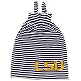 Glitter Gear LSU Tigers Official NCAA Striped Sleeveless Smocked Dress W/Large Logo. Fanatic 2 T