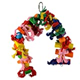 Animal Treasures LBW-0647 Birdie Knotrageous Flexi Bird Toys
