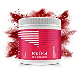 Reïva Organic Beetroot Pro Workout with L-Carnitine | Non-GMO, Gluten Free & Vegan | Nitric Oxide Pre-Workout Booster + Fat Burning| Improve Athletic Performance, Energy and Muscle Recovery | 350g
