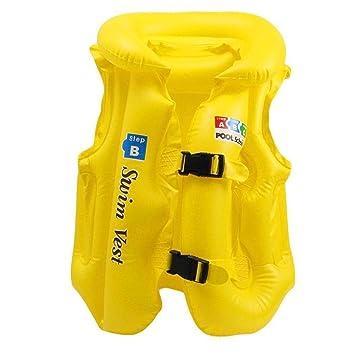 Amazon.com: Mandii - Bañador hinchable para niños, chaleco ...