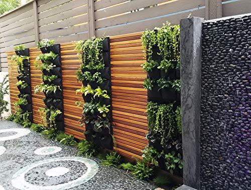 12 Pocket Garden Outdoor Vertical Living Wall Planter by Green-Planter (Image #2)