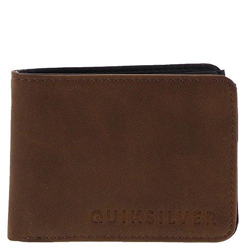 Quiksilver Men's Slim Vintage II Wallet, Coffee Liqueur, M