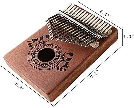 17 Tasten Kalimba Daumen Klavier Finger Klavier Musik Spielzeug Mit Melodie 1M7