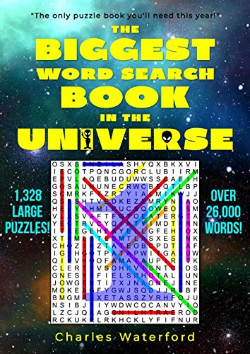 The Biggest Word Search Book in the Universe: 1,328 Puzzles (Volume 1) -