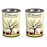 Spiced Red Apple Cider Instant Drink Mix - Pack of Two 3 oz Cans in Collectible Tins.