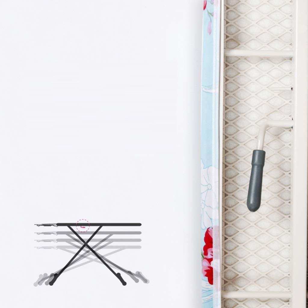 Planche à repasser pliante, grande table à repasser au sol de blanchisserie électrique d'hôtel de plateau de ménage de ménage stable, 110 * 31 * 86CM (Couleur : A) A