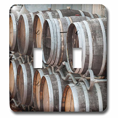 Victoria Cellars (Danita Delimont - Winery - Australia, Victoria, Rutherglen, Wine barrels - Light Switch Covers - double toggle switch (lsp_226245_2))