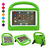 Samsung Galaxy Tab 7.0 E Lite Case-Dinines Shockproof Case Light Weight Kids Case Protection Cover Handle Stand for Galaxy Tab E Lite SM-T113 Tab 3 Lite 7.0 SM-T110 SM-T111 7-Inch Tablet (Green)
