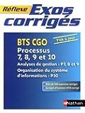 Exos corrigés - Processus 7, 8, 9 et 10 - BTS CGO