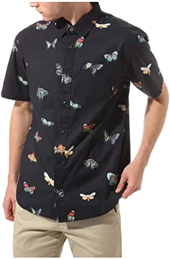 Vans Camisa Metamorphosis SS Black Metamo Hombre: Amazon.es: Ropa y accesorios
