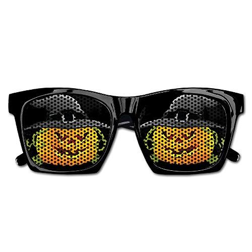 Happy Halloween Evil Pumpkin Party Sunglasses Mesh Lens Glasses Costume Eyewear For Groom Party Wedding - Glasses Nerd Wholesale