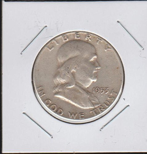 1953 Franklin Half Dollar Fine