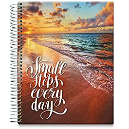 Tools4Wisdom Daily Planner 2021-2022 – Inclusive June 2021 – 8.5 x 11 Hardcover – Full Color Academic Planner Calendar…