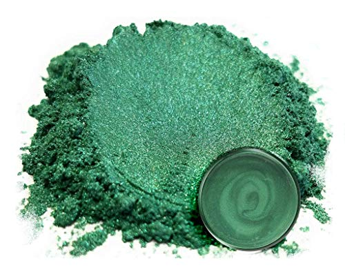 "Eye Candy Mica Powder Pigment ""Nori Green"" (50g) Multipurpose DIY Arts and Crafts Additive 