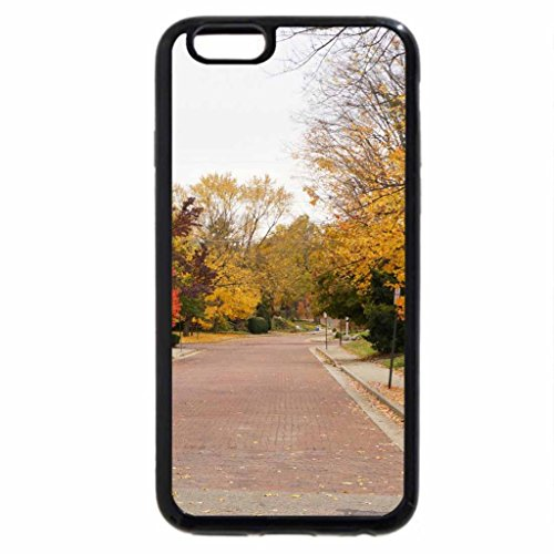 iPhone 6S / iPhone 6 Case (Black) Autumn Neighborhood