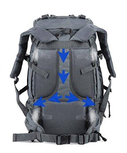 Resistente al agua Oxford Fashion hombres y mujeres hombro bolsa grande capacidad marea bolsa de viaje deportes al aire libre Montañismo bolsa mochila de viaje