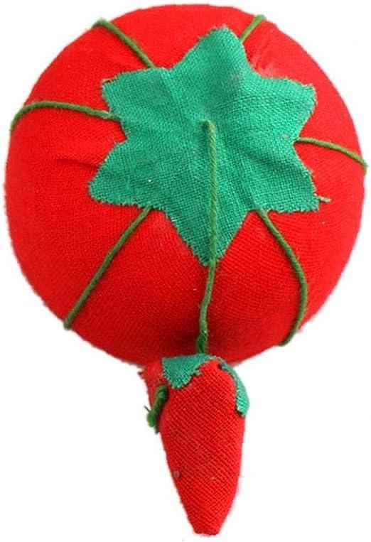 Tomate En Forma De Coj/ín De Agujas Pin Herramienta De Bricolaje para El Hogar Artesan/ía Aguja De Costura Pin Almohadilla del Amortiguador del Acerico