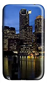 Samsung Note II Case Harbour At Night 3D Custom Samsung Note 2 Case Cover