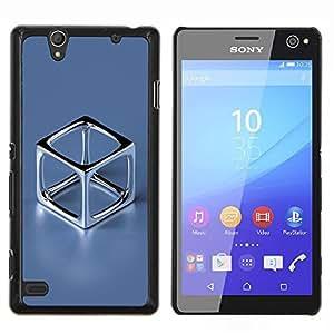 For Sony Xperia C4 Case , Cromo Cube- Diseño Patrón Teléfono Caso Cubierta Case Bumper Duro Protección Case Cover Funda