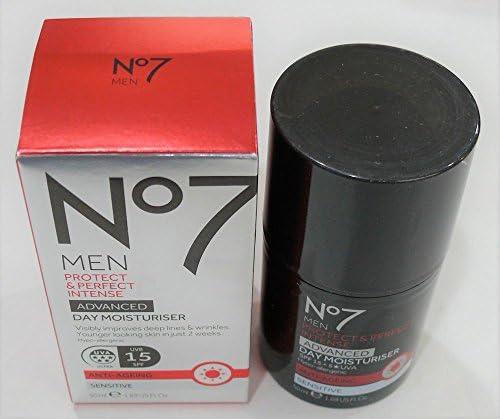 NO7 MEN S PROTECT PERFECT INTENSE ADVANCED MOISTURISER SPF 30 1.69 FL. OZ