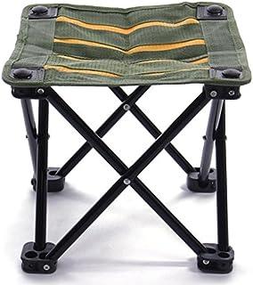 TENGGO Chaise De Pêche Portable Campstool Mini Tabouret Pliant Pêche Tackle