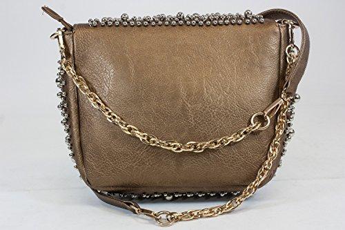 BZ handbag Body ZC9931 Fashion Beaded Strap Cross Shoulder A Studs Bag with PXqw5F