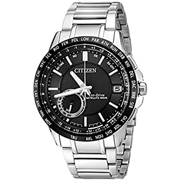Citizen Men's Eco-Drive Satellite Wave World Time GPS Watch with Day/Date, CC3005-85E